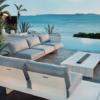 Dream sofa white modern outdoor sofa adjustable removeable back miami fl hamptons ny los angeles ca