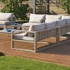 Firm c modular outdoor sofa contract hospitality hotel trade 4
