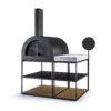 Garden Ease Pizza Oven Modern Outdoor Collection Wood Aluminum Hamptons California 1