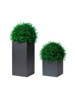 Garden Ease Black Cube Planter