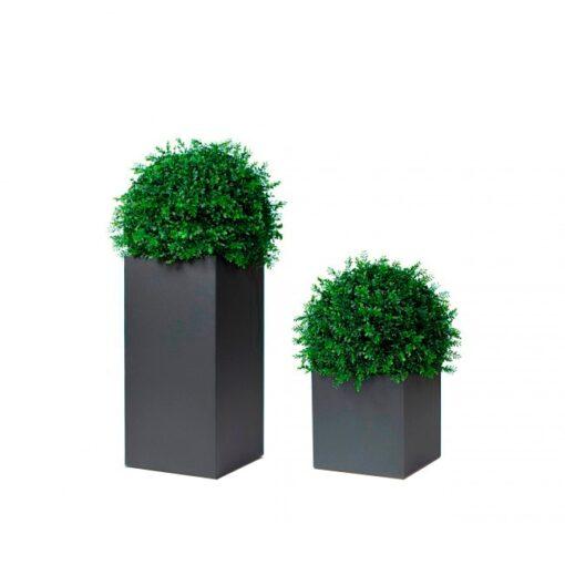 Garden Ease Black Cube Planter