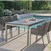 agreta dining grey rope dining chair modern contemporary pool s