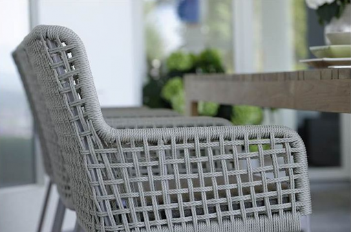 agreta dining grey rope dining chair modern contemporary boutique design