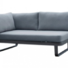 averon right sofa module element black