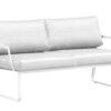 averon modern white black outdoor sofa