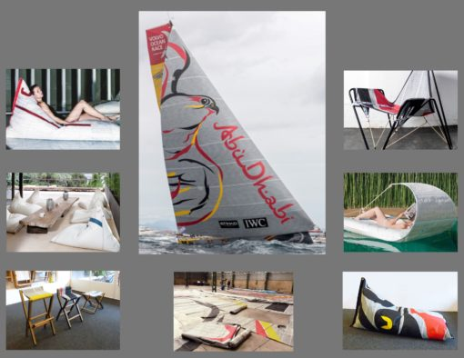 Abu Dhabi Sail One of A Kind Designer Product of the Year Luxury Float Pool Yacht Furniture