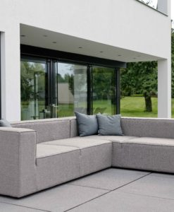 Modern Aluminum Outdoor Sectional Sofa