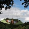 cozy modern hammock swing tree camp glamp green hang 22
