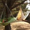 cozy modern hammock swing tree camp glamp hang 2