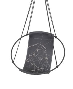 hoop modern hanging swing chair