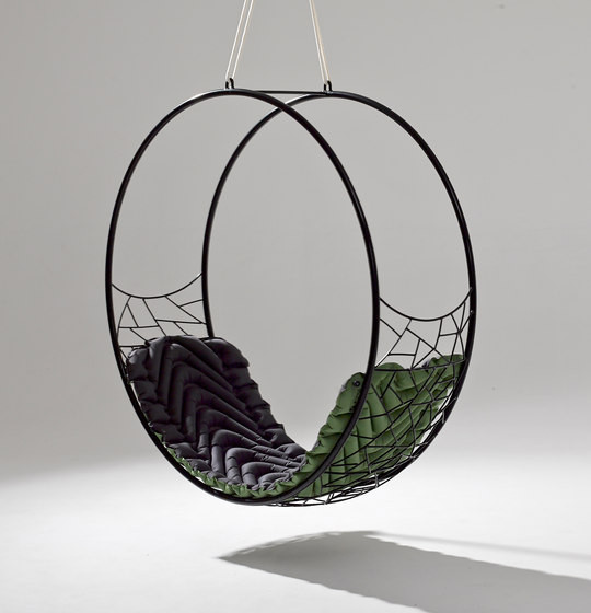 Round Modern Hanging Swing Chair Couture Outdoor