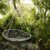 Saucer outside modern hammock hanging designer swing chair daybed lounge hotel contract furniture luxury