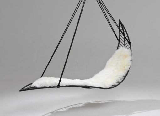 earth modern hanging swing chair