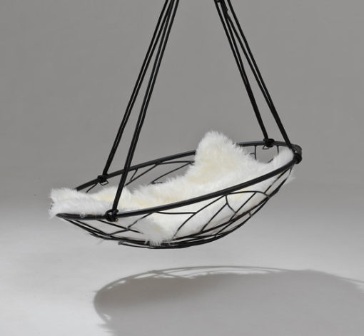 lily modern hanging swing chair