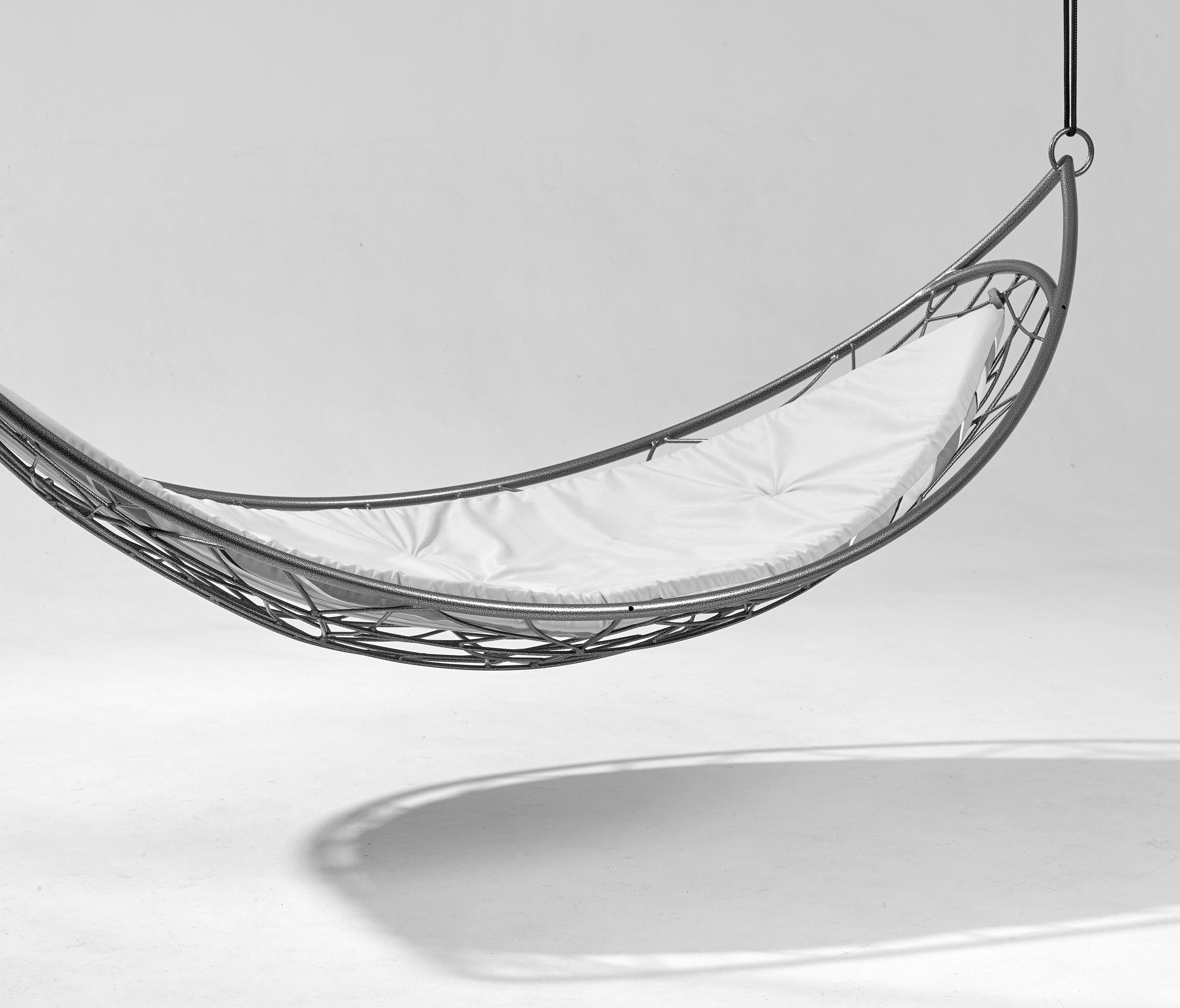 Excellent Half Moon Modern Hanging Hammock Couture Outdoor Ocoug Best Dining Table And Chair Ideas Images Ocougorg