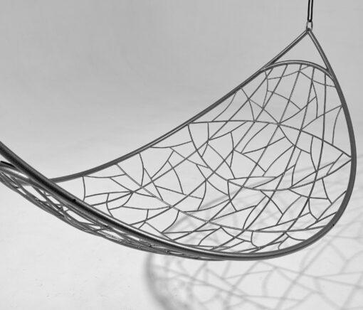 half moon modern hanging hammock