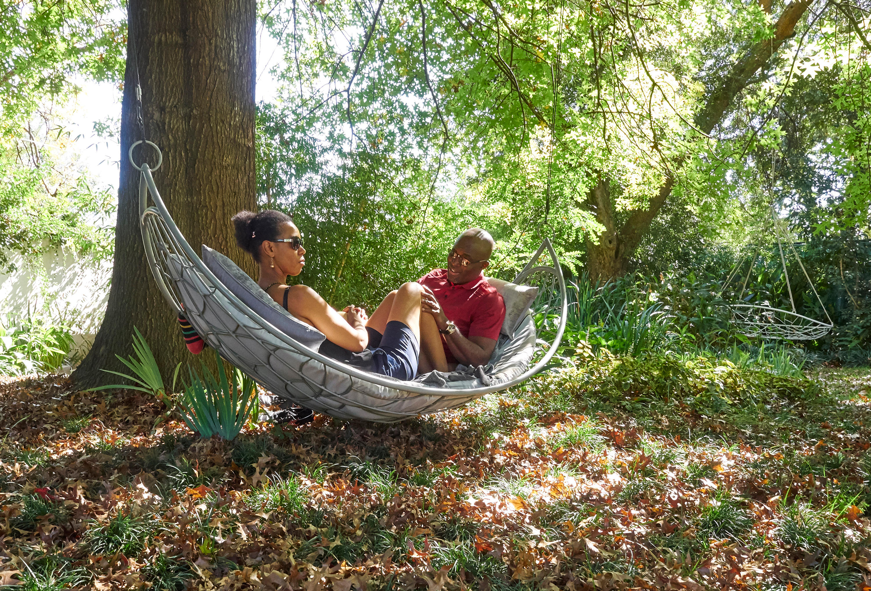 Half Moon Modern Hanging Hammock Couture Outdoor