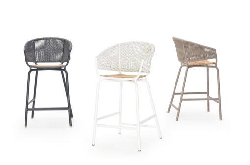 wicker bar stool
