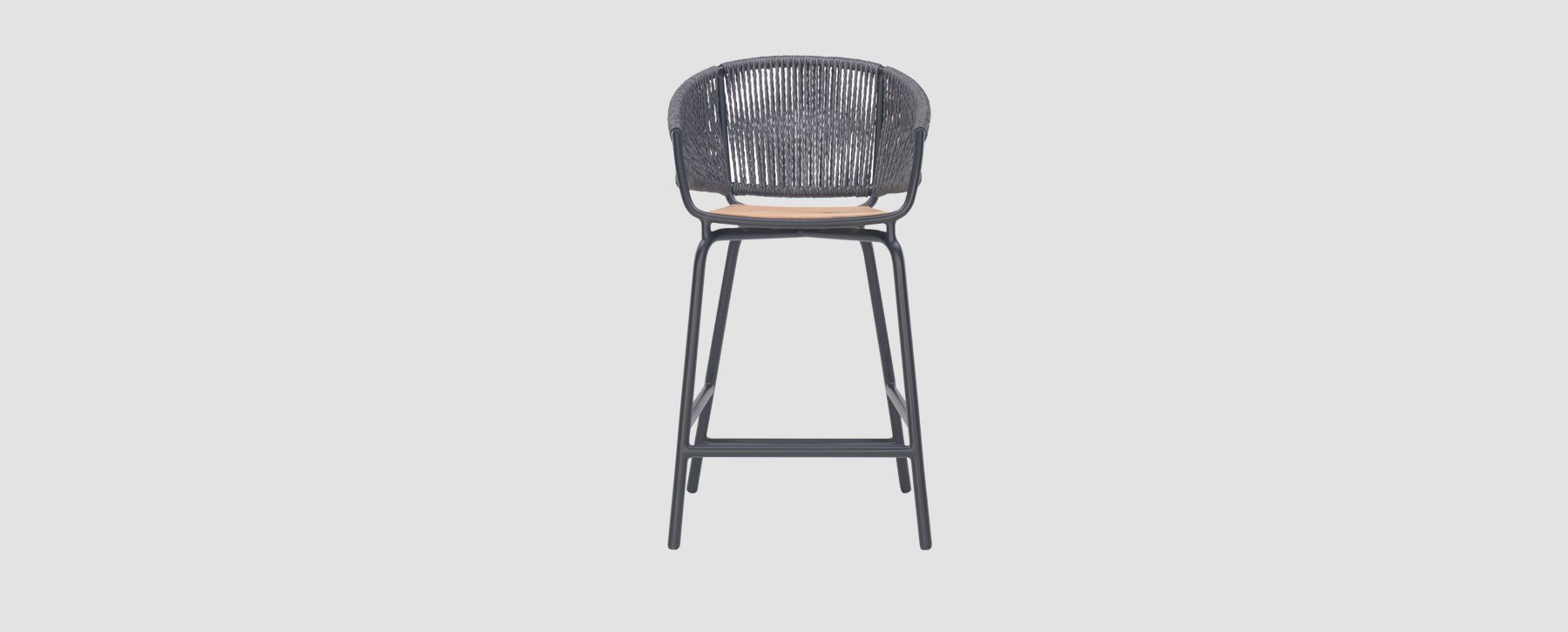 Outstanding Woven Rope Bar Stools Ibusinesslaw Wood Chair Design Ideas Ibusinesslaworg