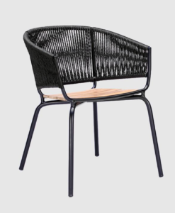 Modern Weave Rope Dining Chair