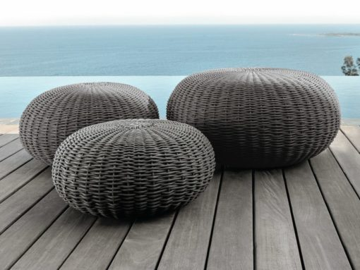 Jessi Rope Pouf Modern Outdoor Design
