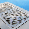 Sleek Stainless Steel BBQ Grill spanish design architect yact fire cook out door kitchen