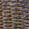Stellar charcoal rope weave cord