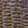 Stellar charcoal rope weave cord