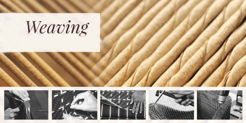 Stellar hand weaving contract luxury outdoor furniture hotels restaurants