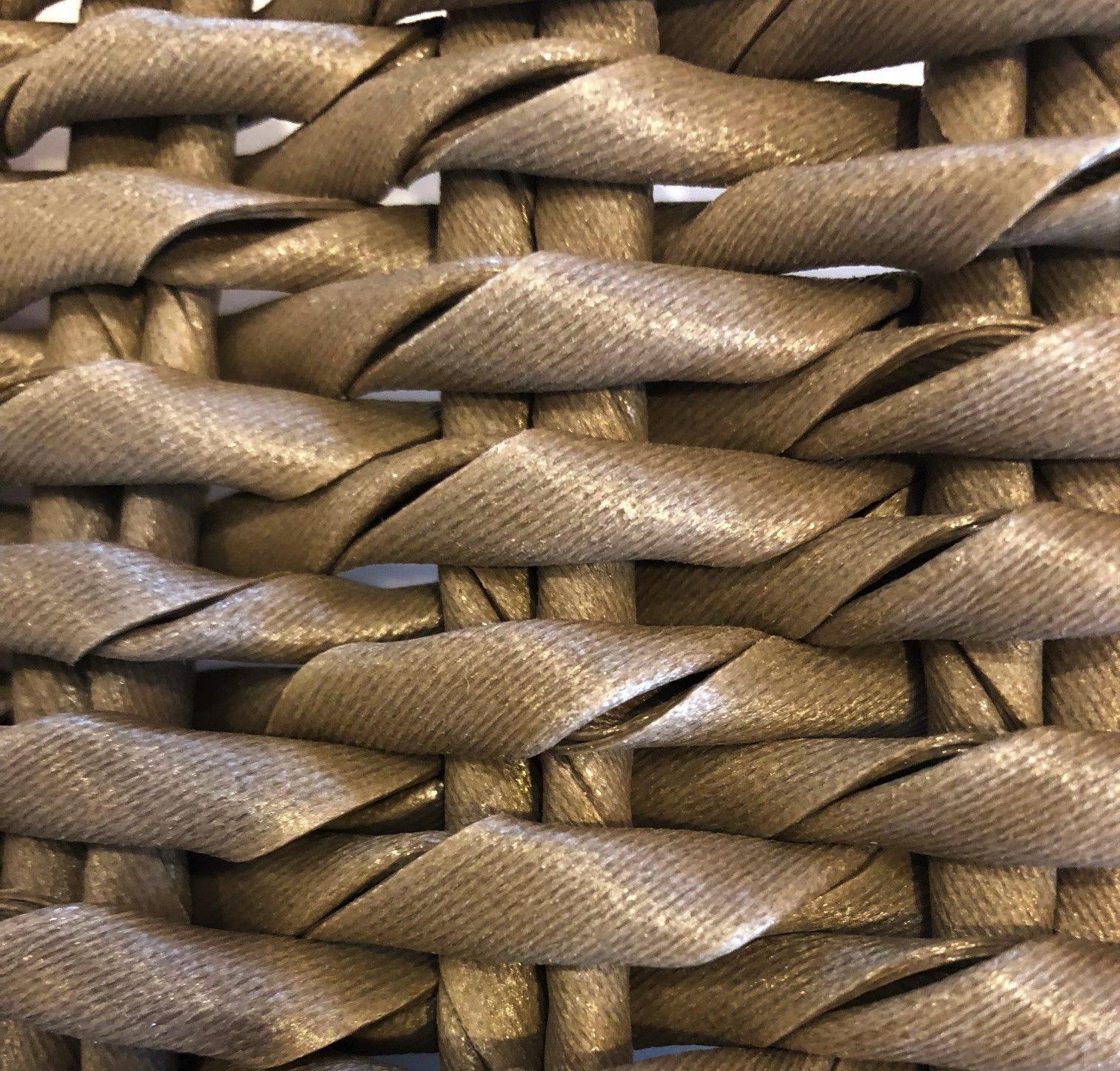 Modern Aluminum Rope Weave Bar Stool Organic Quick Dry