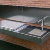 cantilever grill wall mount modern design sleek high end luxury top gourmet chef outdoor kitchen island best bbq grill award