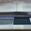 cantilever wall mount bbq suspension moder sleek high end design gourmet outdoor kitchen
