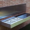 cantilever wall mount modern design sleek high end luxury top gourmet chef outdoor kitchen island best bbq grill award (2)