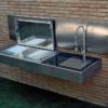 cantilever wall mount modern design sleek high end luxury top gourmet chef outdoor kitchen island best bbq grill award (3)