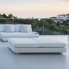 Ari 2-seater sofa luxury platform residential contract modern sunbrella outdoor furniture hampton california high end design