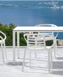 ambo outdoor chair dining cafe pool furniture contract commercial hotel golf club tennis