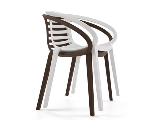 ambo stack contemporary design polypropylene dining trending restaurant hotel cafe spa country club design affordable