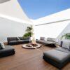 ari black 2019 modern luxury sectional modular elements adjust back multi function outdoor oasis landscape design hotel contract pool furniture