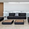 ari modern black luxury sectional modular elements adjust back multi function outdoor oasis landscape design hotel contract pool furniture