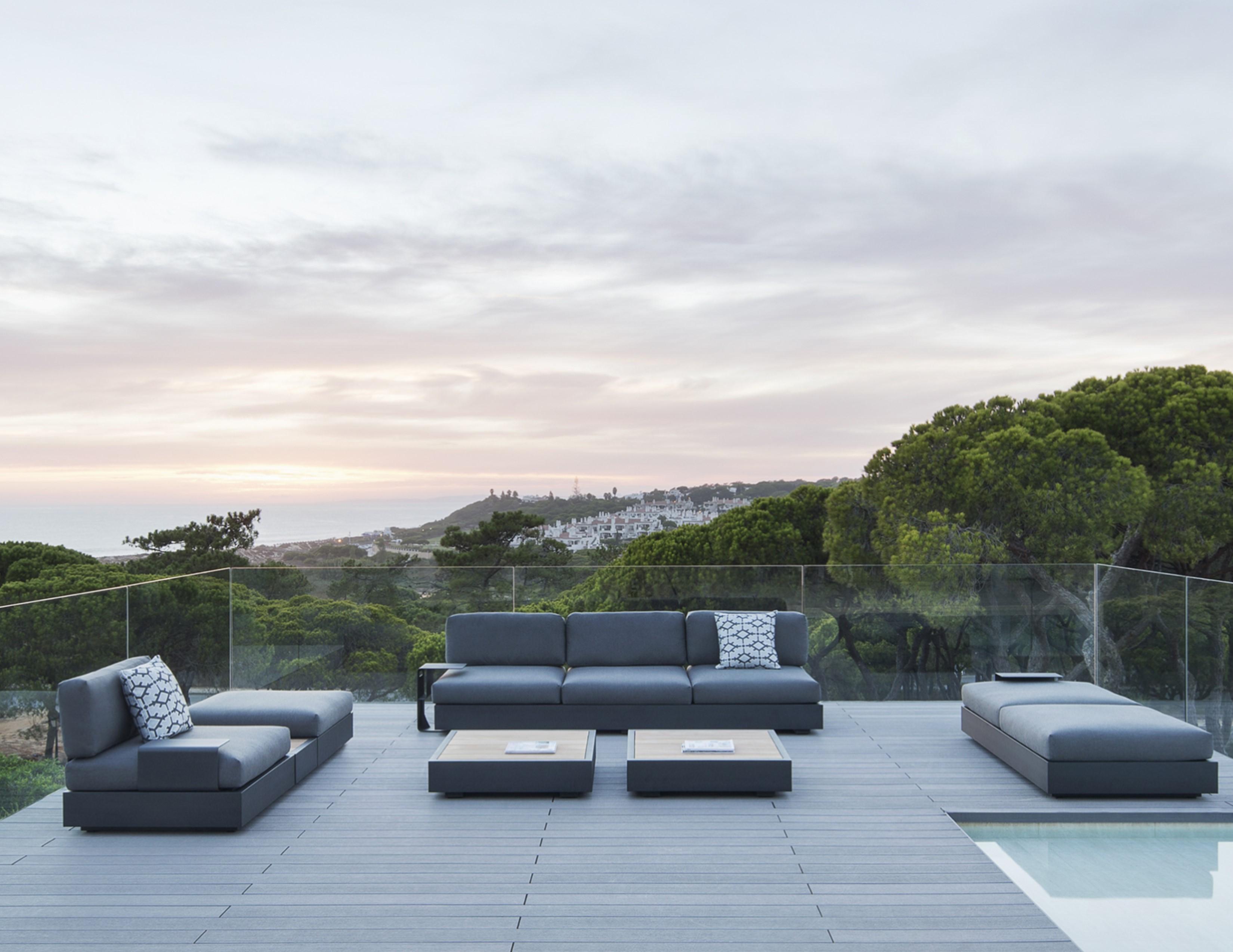 ari white black modern luxury sectional modular elements adjust back multi function outdoor oasis landscape design hotel contract pool furniture