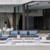 ari white teak luxury european designer modern sectional modular adjustable backs elements hotel award contract design
