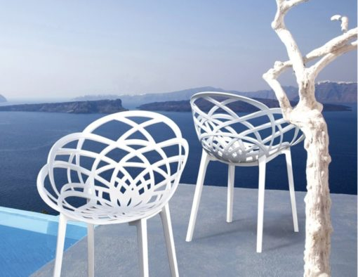 aureole dining chair must have design statement polycarbonate colorst modern contemporary interior exterior luxury outdoor hotel contract design