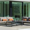 bon modern sectional sofa garden pool furniture popup table multi function hotel contract club award design