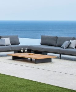 Bonn 2 Seater Sofa Removable Backrest Urban