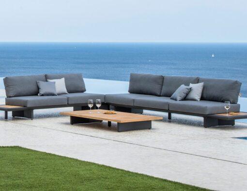 Bonn 2 seater sofa removable backrest urban