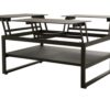 bon popup tray coffee table multiple tv tray lifting pop-up modern urban design hotel contract design