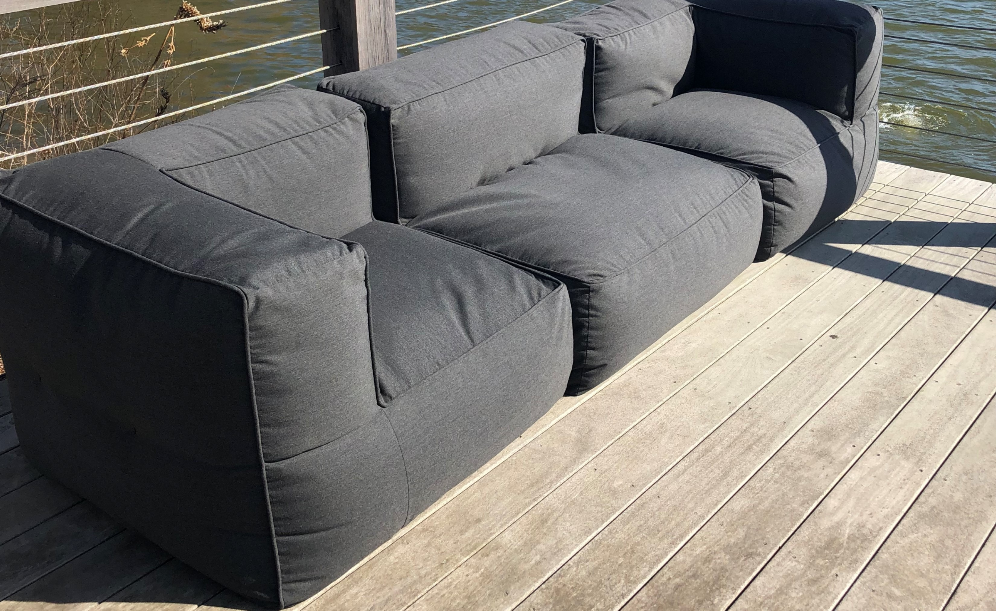 Cielo Bean Bag Modular Sofa Couture Outdoor