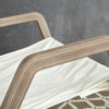 Dvelas Cunningham club chair modern marine grade plywood residential indoor outdoor luxury design hotels resort spas teak furniture Details