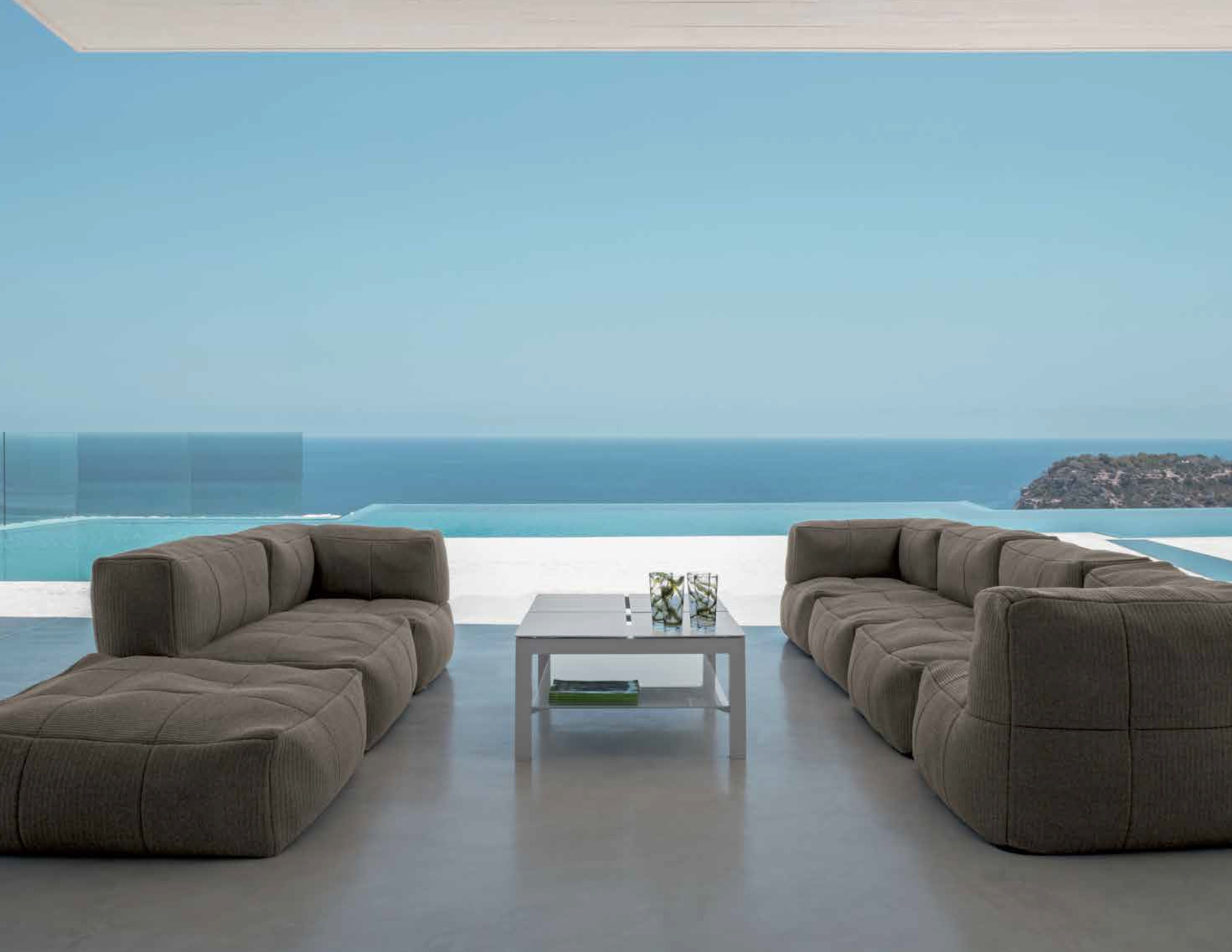 Bella Beanbag Modular Sectional Sofa Couture Outdoor