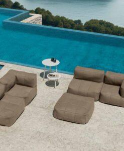 bella modern outdoor beanbag modular sectional sofa lounge sunbrella bean bag luxury ibiza hotel contract design paola urban trend europe designer